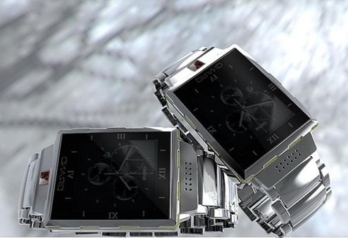 Reloj con móvil integrado y sumergible