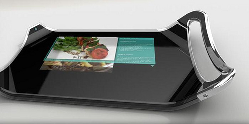 Marc Nardangeli presenta un diseño futurista de la tabla de cocina