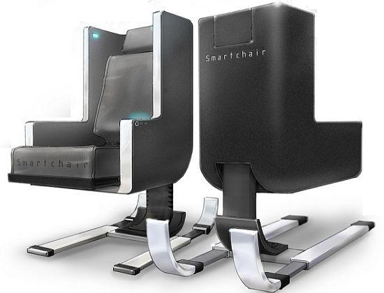 Smart chair silla inteligente para los dolores de espalda for Sillas ergonomicas para ordenador