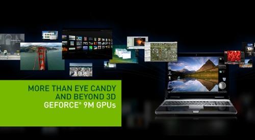 NVidia GeForce 9M: serie 9 de Nvidia para ordenadores portátiles