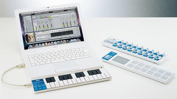 Korg nanoSeries: instrumentos en el portátil