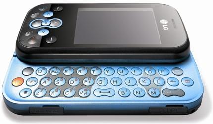 LG KS360: pantalla táctil y teclado físico QWERTY
