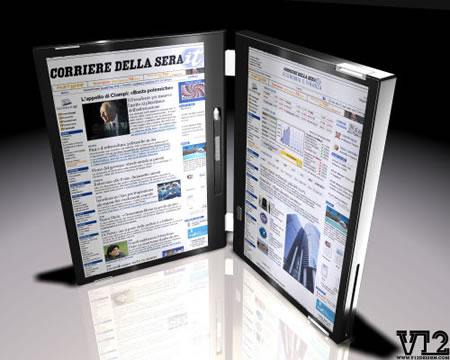 ¿Portátiles con doble pantalla táctil para el 2010?