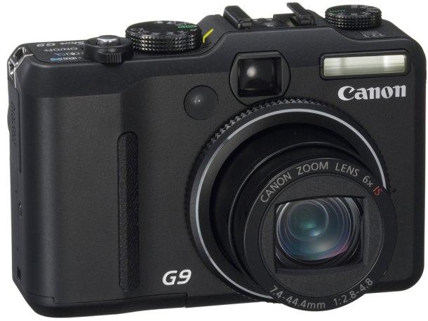 Canon PowerShot G9: 12,1 megapixeles a tu disposición