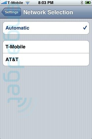 iPhone liberado mediante software