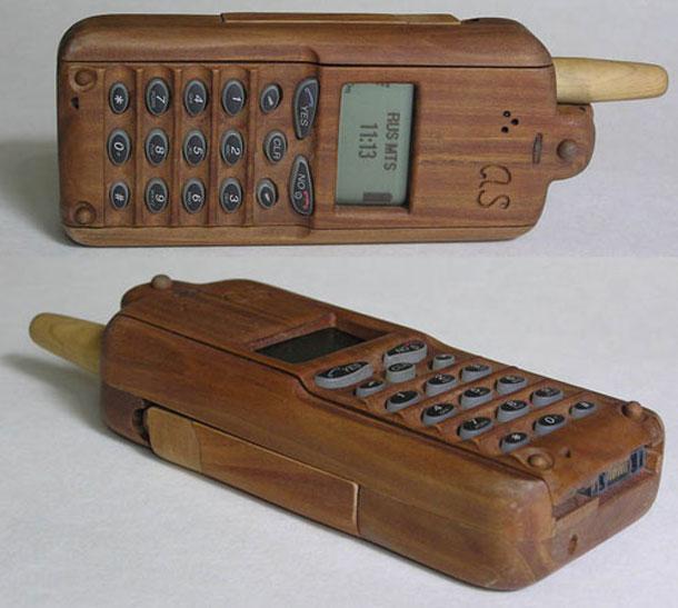 Teléfonos móviles artesanos