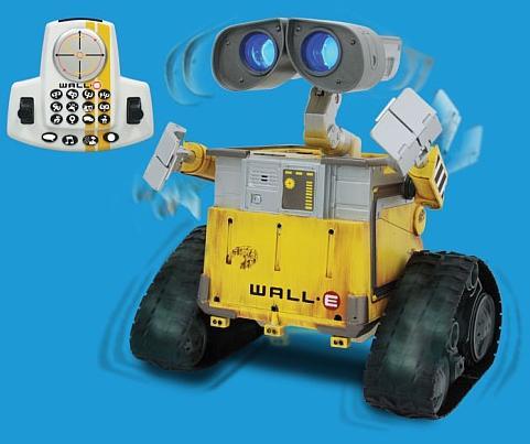 Robot de Wall-E de verdad