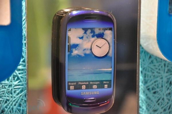 Blue Earth solar phone de Samsung, otro móvil ecológico