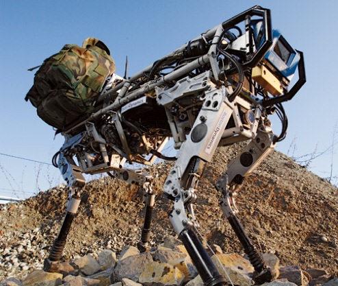 BigDog el robot que parece un animal