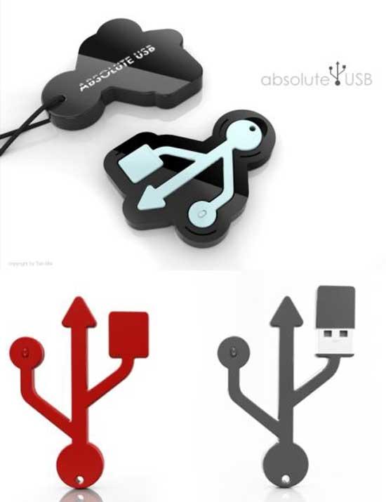 Memoria USB en el sentido más literal