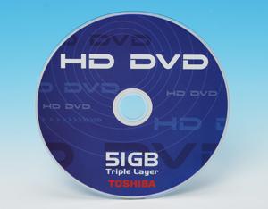 DVD Forum podría haber aprobado HD-DVD de hasta 51Gb