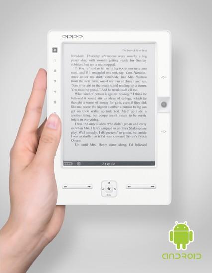 Nuevo lector de libros digitales de OPPO