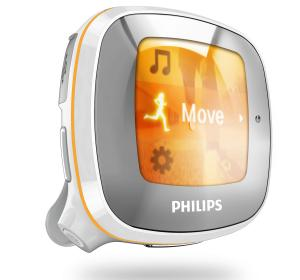 Philips Activa fitness MP3, reproduce música según tu actividad diaria