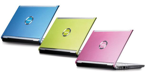 Portátiles de colores con MSI PR210 YA