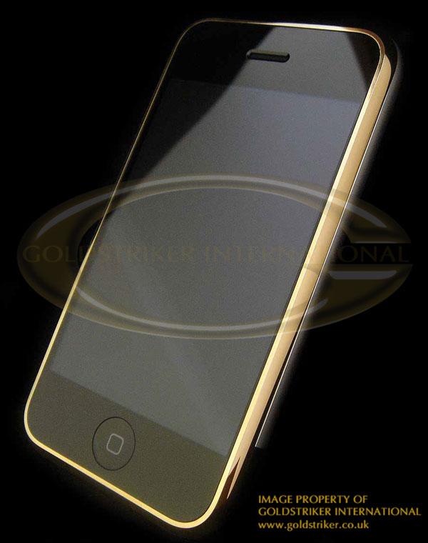 iPhone totalmente de oro
