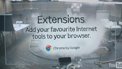 Google Chrome y sus extras