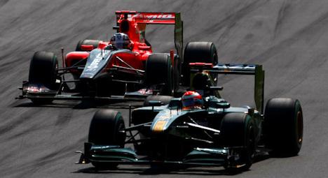 Trully y Glock en el GP de Italia