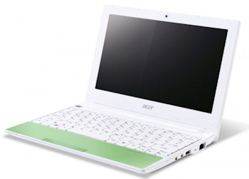 Acer Aspire One Happy Verde Lima