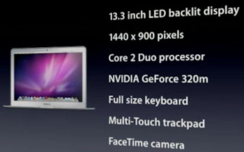 MacBook Air 133 pulgadas