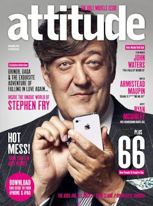 Stephen Fry en Attitude Magazine