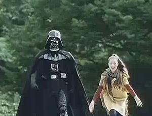 Darth Vader en el anuncio de Samsung