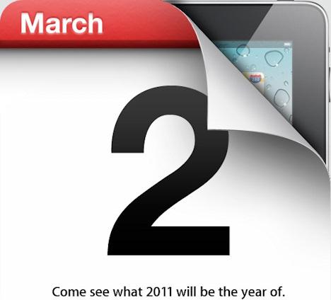 Anuncio Apple iPad 2