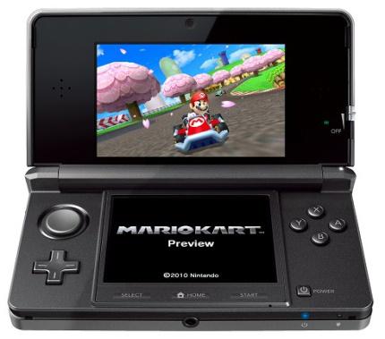 La oferta de juegos inicial de la 3DS es muy amplia