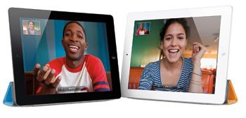 Face Time en el iPad 2