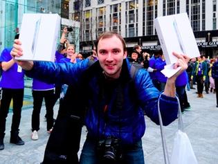 Alex Shumilov, el primero en tener el iPad 2