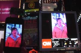 Times Square Hackeada