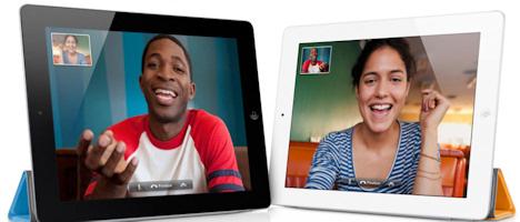 FaceTime en iPad 2