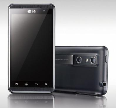 LG Optimus 3D, con dos cámaras para grabar en 3D