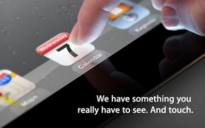 Anuncio Keynote iPad 3