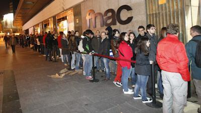 Colas en Madrid por el nuevo iPad