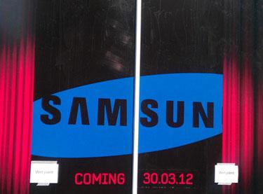 Escaparate Samsung