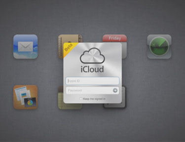 Screenshot iCloud