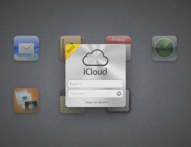 Screenshot iCloud