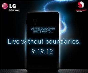 Invitación LG+Qualcomm