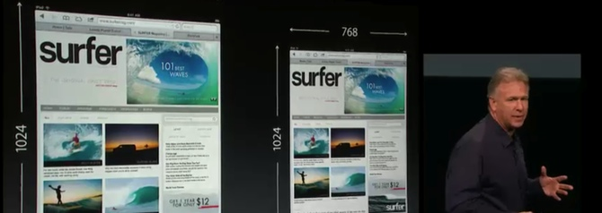 Keynote Apple del iPad Mini en directo