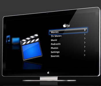 Concept Apple iTV