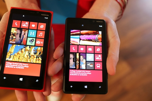 Nokia Lumia 900 con Windows Phone 8