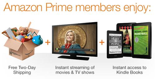 Amazon Prime también permite acceder a contenidos audiovisuales en streaming