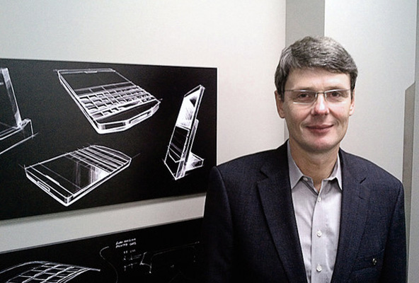 Thorsten Heins, CEO de BlackBerry