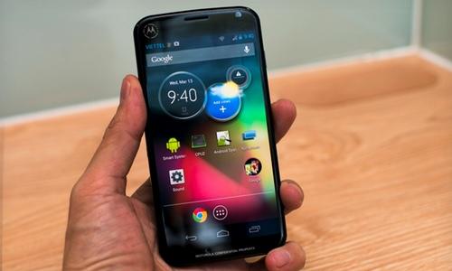 Motorola, parte frontal del nuevo prototipo