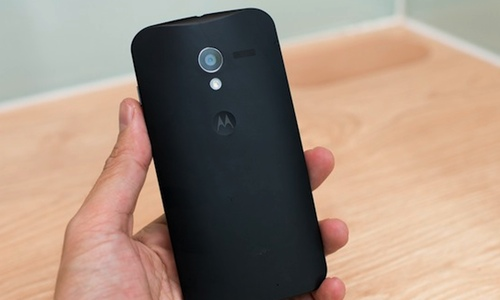 Motorola, parte trasera del nuevo prototipo