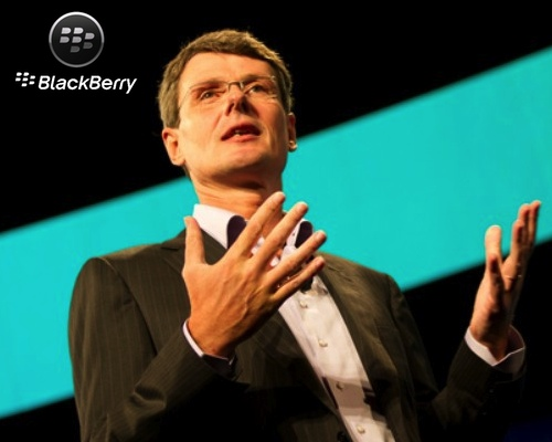 Heins, CEO de BlackBerry hablando sobre iPhone
