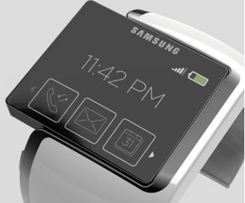 Posible aspecto del smartwatch de Samsung