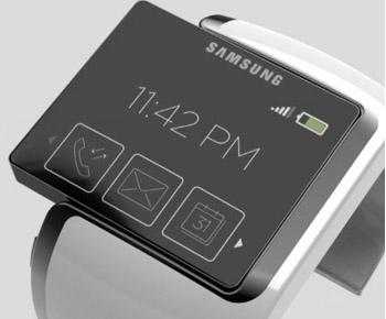 Posible aspecto del smartwatch de Samsung
