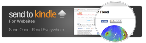 ¿Cuánto tardará el botón de Kindle en extenderse por Internet?