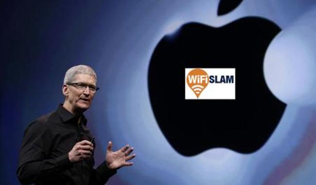 Apple se hace con WiFiSlam